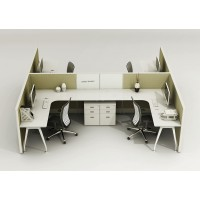 Cubicles 4H Stations for 4 persons
