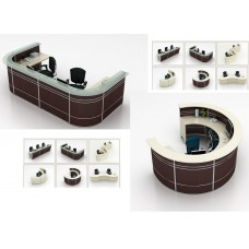 Round Reception Desk