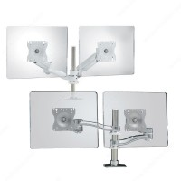 Dual-Arm Desk Mounts for LCD Flat Panels