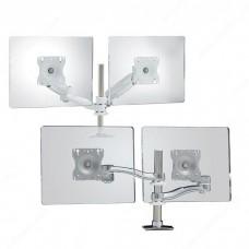 Dual-Arm Desk Mounts for LCD Flat Panels