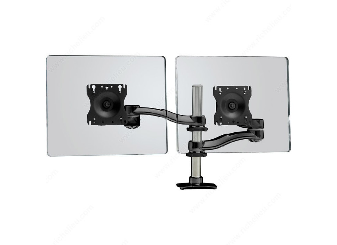 Dual Arm Desk Mount For Lcd Monitors