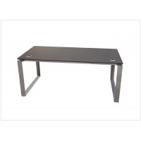 Stainless Steel Executive Desk
