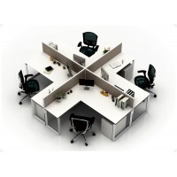 Cubicles X4 Workstation