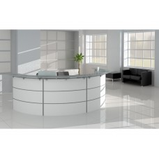 Curved Reception Desk